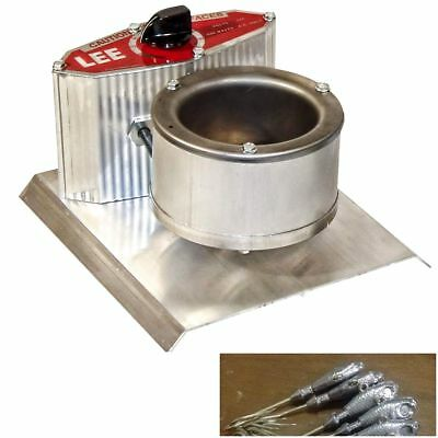 LEAD MELTING POT Holder Bullet Sinker Mold Furnace Smelting Melt Lead  Casting