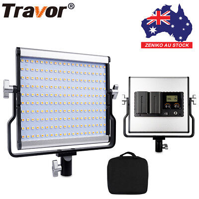 AU Travor Bi-Color LED Video Light 3200-5600K For Shooting Studio Photography