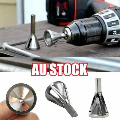 Deburring External Chamfer Bit Stainless Steel Remove Burr Tools Drill Tool hhj
