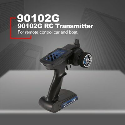 2.4GHz 2CH Radio Remote Control Transmitter with Receiver for RC Car Boat LS