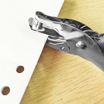 Hand-held Hole Puncher Manual Punch Single Hole Metal Punching Tool 3mm Useful