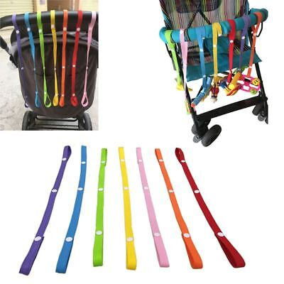 Baby Stroller Strap Fixed Car Pacifier Chain Baby Stroller Anti-lost Toys Belt
