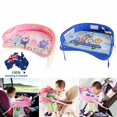 Kids Toddler Safety Car Seat Travel Snack Play Table Tray Drawing Board  BO