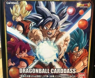 Dragon Ball Carddass Part 37 & 38 Complet Box