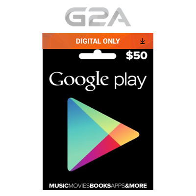 $50 USD Google PLAY Store Gift Card - 50 US Dollar Google Play Code -Android Key