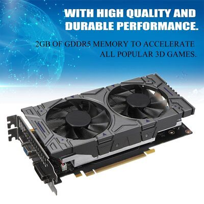 GTX1050 GDDR5 2GB 256bit Game Graphics Card Display Card with Fan For NVIDIA IL