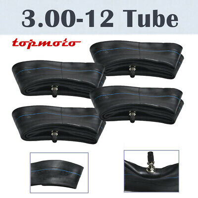 4x 3.00 - 12 80/100-12 Rear Back Tyre Tire Tube Motorcycle Dirt Pit Bike Trail