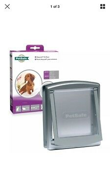 Petsafe Staywell 737 Cat Flap Or Small Dog Door Grey 737