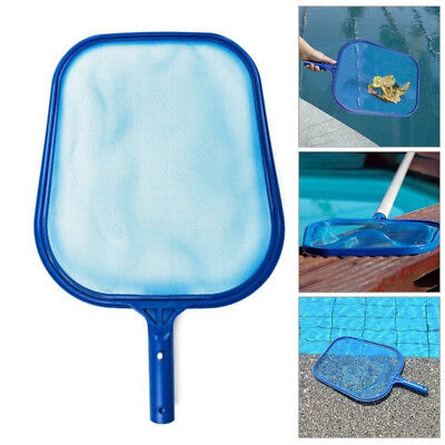 Professional Leaf Rake Mesh Frame Net Skimmer Cleaner Swimming Pool Spa Tool POU