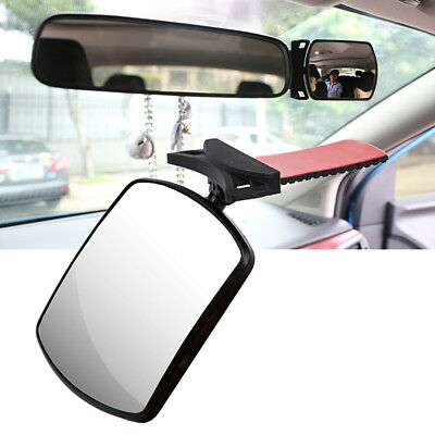 Adjustable Convex  Safety  Child Car Seat  Baby Mirror  Facing Back Rear View