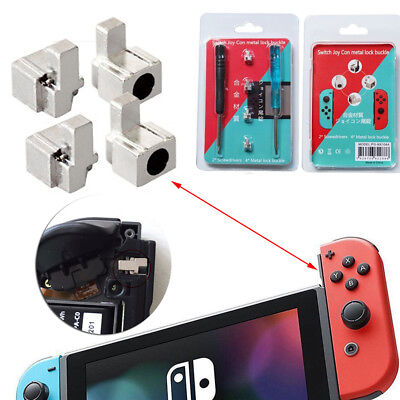 Replacement Metal Lock Buckle with Screwdrivers For Nintendo Switch NS Joy-Con