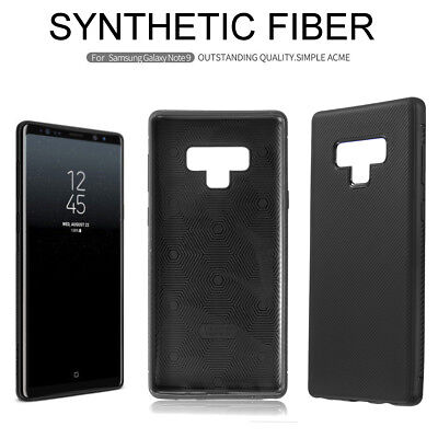 For Samsung Galaxy Note 9 Nillkin Synthetic Carbon Fiber Matte Back Cases Covers