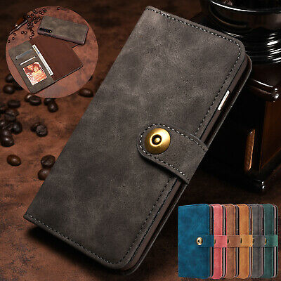 For Huawei P20 Pro/Lite Case Detachable Leather Card Holder Flip Magnetic Cover