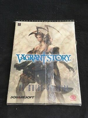 GUIDE Officiel Vagrant Story Edition BradyGames Fr neuf