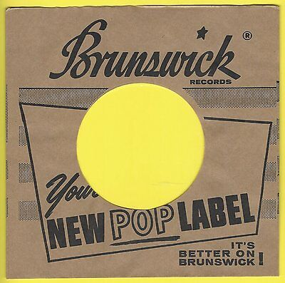 BRUNSWICK REPRODUCTION RECORD COMPANY SLEEVES - (pack of 10)