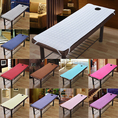 SPA Massage Table Cover Bed Toweling Couches Mattresses With Face Hole