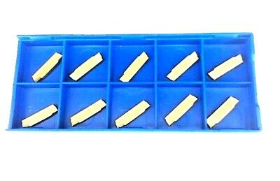 10pcs MGMN200-G 2mm Carbide Inserts for MGEHR/MGIVR Grooving Cut-Off Tool
