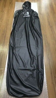 Unisex patent leather mummy Sleeping Bag Full Body Covered with Six straps