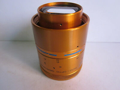 Isco Optic Gold Cinemascope Ultra Star Anamorphic Attachment lens