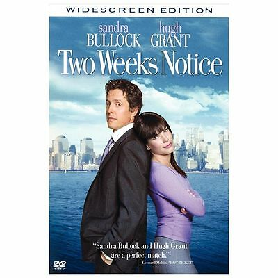 Two Weeks Notice (DVD, 2003, Widescreen) New Sealed
