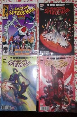 Amazing Spider-man # 263 797 798 799 first Normie Lot spiderman