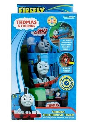 Thomas & Friends Train Timer Toothbrush Gift Set
