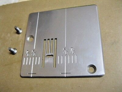 Sears Kenmore 385  Sewing Machine GRADUATED ZIGZAG PLATE & SCREWS.             @