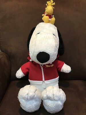 3e6c49f284264 SNOOPY AND WOODSTOCK Plush 20