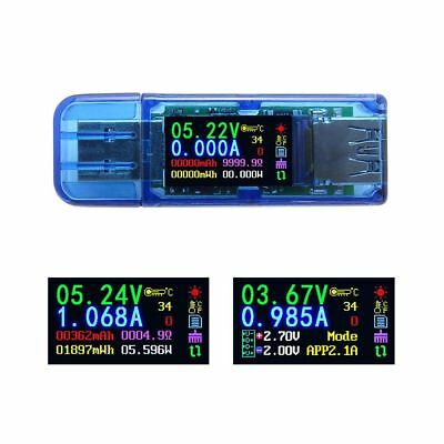Voltage Current Capacity Energy Power Equivalent Impedance Temperature Tester30V