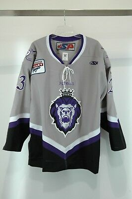 2001-2005 Eric Werner Signed Reading Royals Game- Jersey size 56 FOR CHARITY