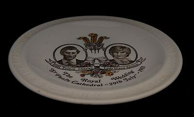 Myott Meakin Marriage of HRH The Prince Charles Lady Diana Commemorative Plate