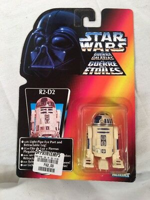 Star Wars POTF R2-D2 1995 Red Card French Version (RARE)
