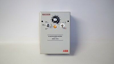 *NEW* Baldor BC140-FBR DC Motor Speed Control