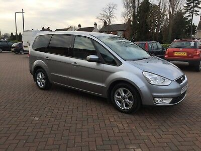 Ford Galaxy 2.0 Tdci Zetec 7 Seater 6 Speed In Outstanding Condition Black Glass