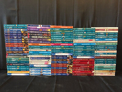Lot of 125 Harlequin Silhouette Romance Intimate Moments Desire Heartsong etc PB
