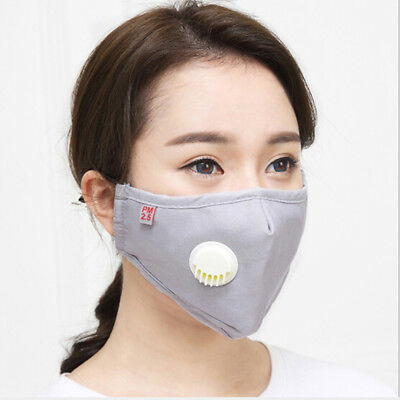 Cotton PM2.5 anti dust mask activated carbon filter windproof mouth-muffle BRZY