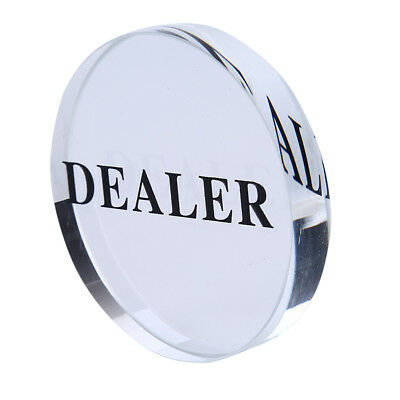 1PC 58mm Pressing Poker Cards Guard Poker Dealer Button Poker Chips BRZY