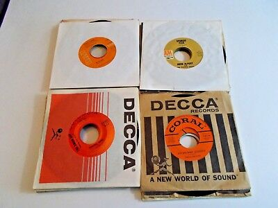 Lot Of 25 45RPM 50s 60s Oldies Pop Soul Jukebox Wholesale Random Vinyl Record
