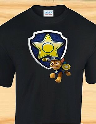 PAW PATROL EVEREST Badge - Adult, Child, Toddler Shirt