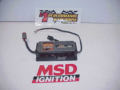 MSD HVC Ignition Box #6600 Tested Good NASCAR UMP IMCA Ratrod J12