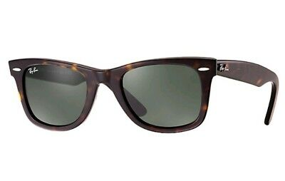 Ray-Ban Original WAYFARER Dark Tortoise/Black Sunglasses RB 2140 902 Frame 50mm