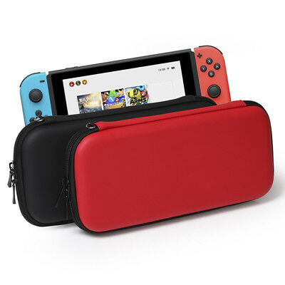 For Nintendo Switch Hard Shell Carrying Case Protective Travel Bag Cover BLUS