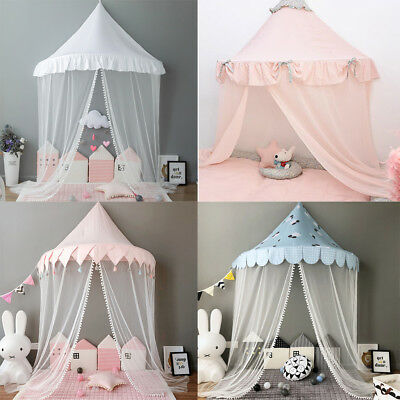 Kids Playhouse Bed Canopy Tent w/Mosquito Netting Hanging Bedding Reading Corner & KIDS PLAYHOUSE BED Canopy Tent w/Mosquito Netting Hanging Bedding ...