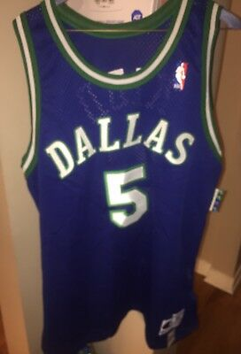 90 s Jason Kidd Dallas Mavericks Champion Authentic NBA Jersey Size 48 b60f8763c