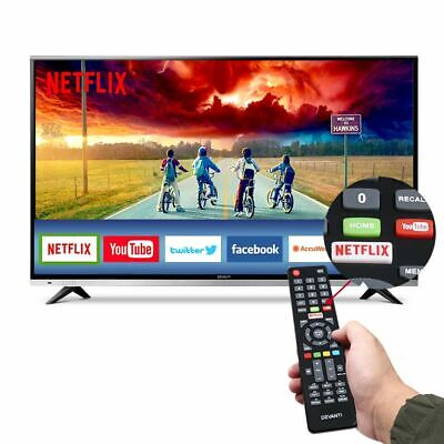 "4K 55"" Smart TV Ultra Slim UHD LED LCD Dolby Sound With Wi-Fi & LAN Connectivity"