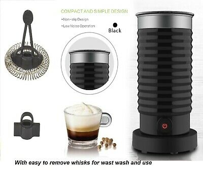 Nespresso Lattissima style Automatic MILK FROTHER 1 cup hot 72C. 360 turn
