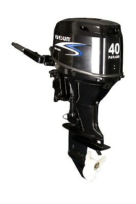 40 HP Parsun Outboard with Hydraulic Lift