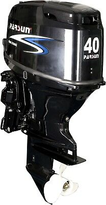 40 HP Parsun Outboard with Power Tilt/trim and Remote Controls