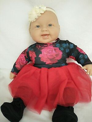 "Berenguer 20""  Doll Cloth Body Vinyl Arms & Legs Excellent Condition"