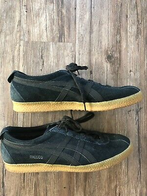 1e6222fcead8 ASICS Onitsuka Tiger Mexico Delegation (D639L) Black Tan - Size 12 Shoes  Rare
